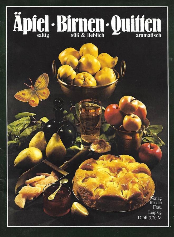 Äpfel-Birnen-Quitten Rezepte 1985_10x14