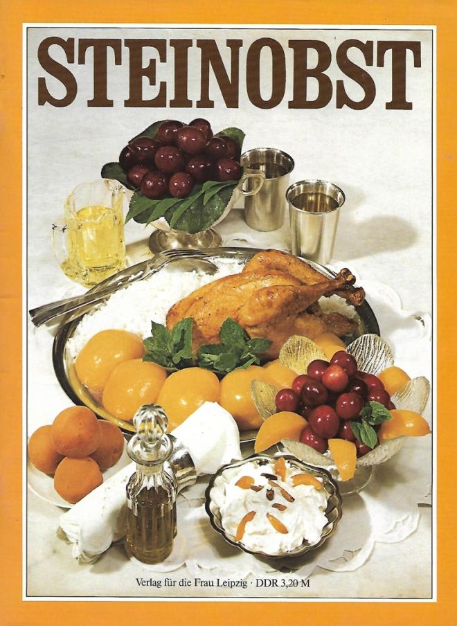 Steinobst Kochrezepte 1986_10x14