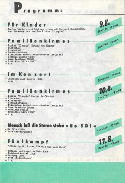 Liedersommer der FDJ #4 1986 - Programmheft S.2