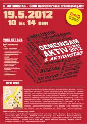 Poster 6-Aktionstag 2012